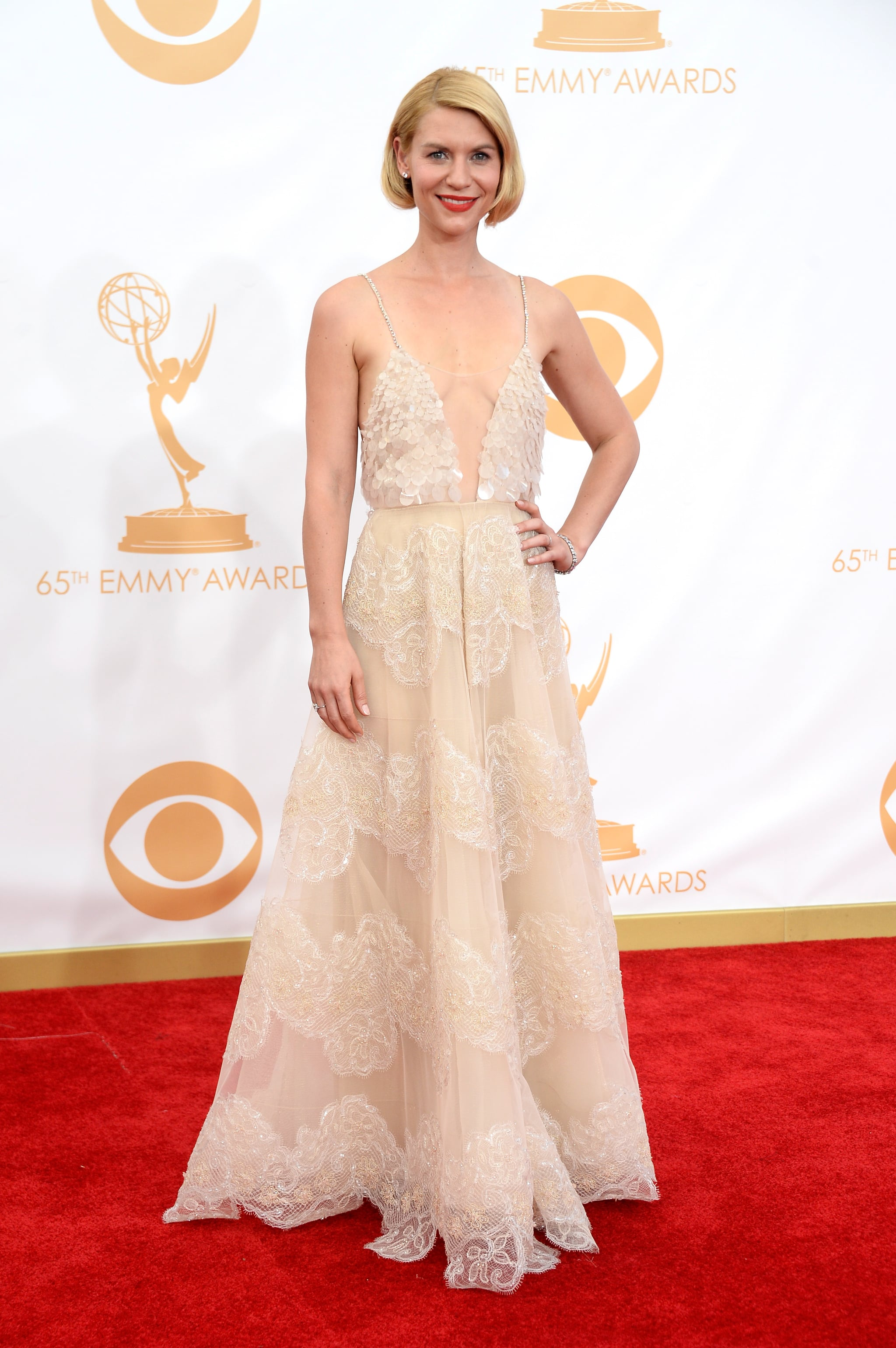 Claire Danes attended the 2013 Emmys.