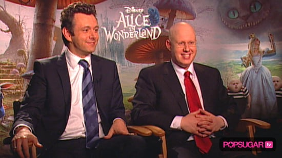 Interview With Martin Sheen and Matt Lucas About Tim Burton's Alice in Wonderland