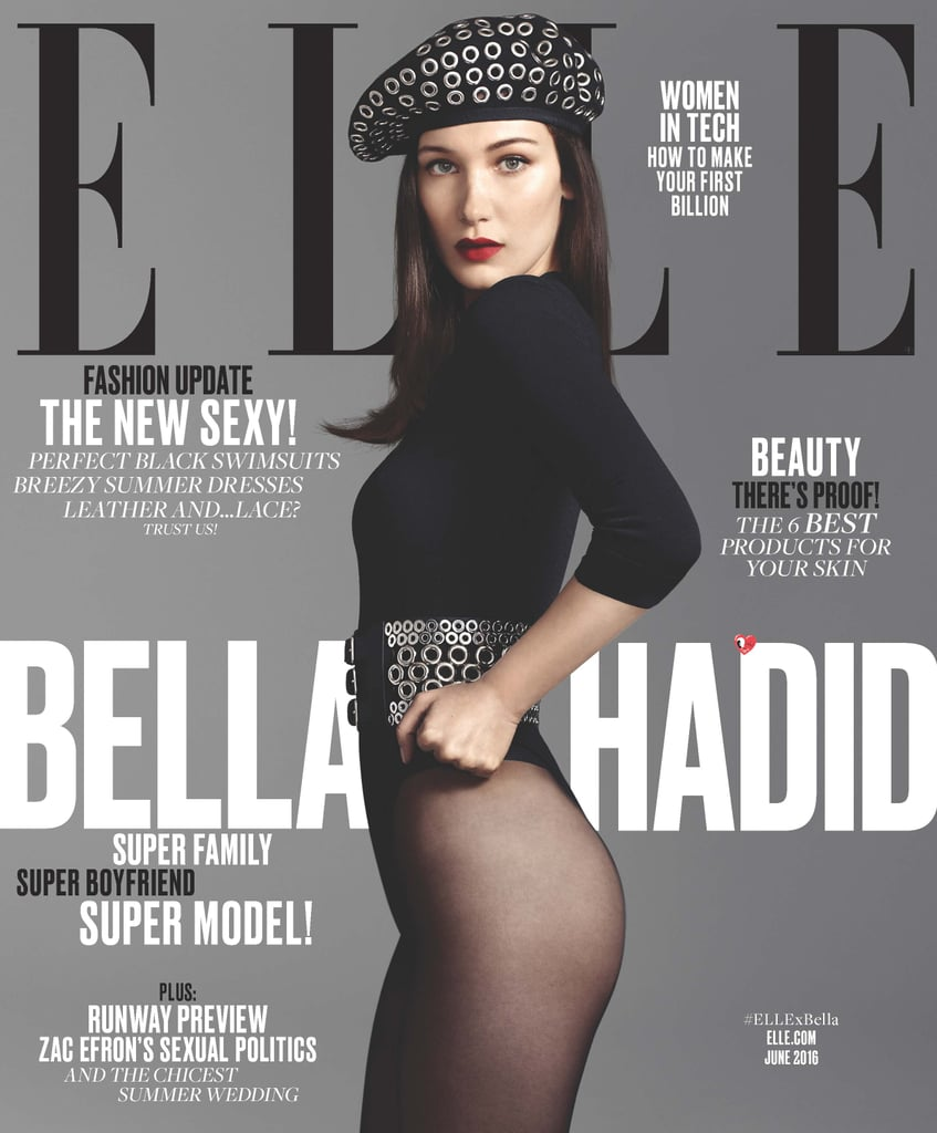 Bella Hadid on Elle Magazine June 2016