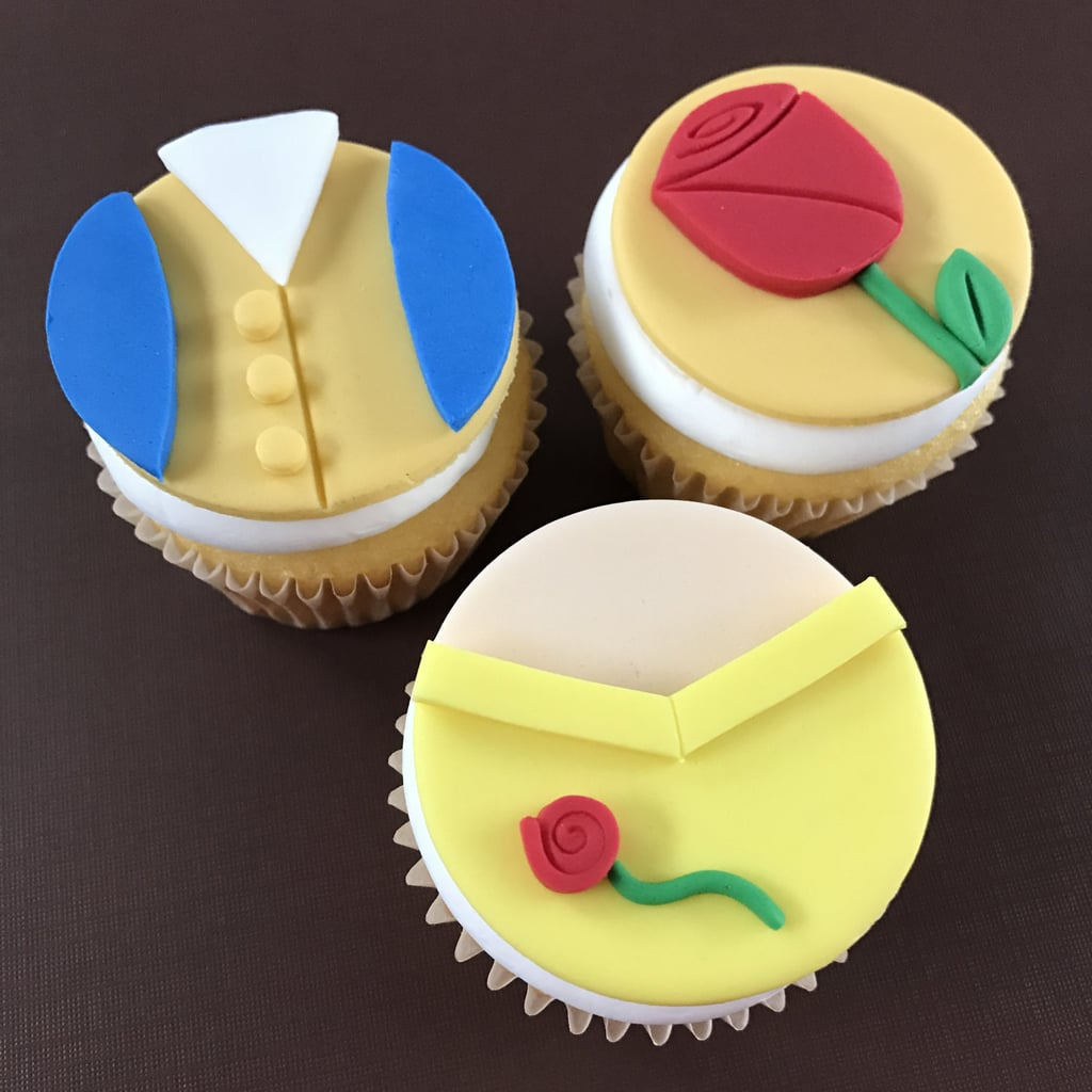 Fondant Cake Toppers   Beauty and the Beast Desserts   POPSUGAR Food ...