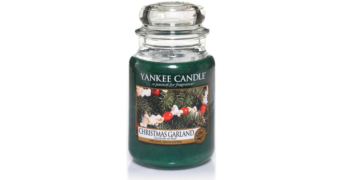 Yankee Candle Christmas Garland Classic Large Jar Candle Best