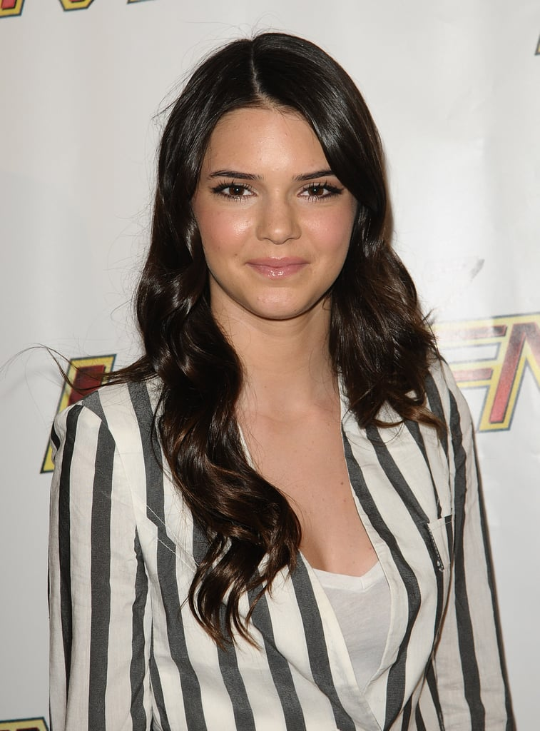 Kendall Jenner's Curled Ends