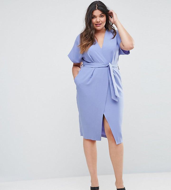 Closet London Short Sleeve Tie Front Dress