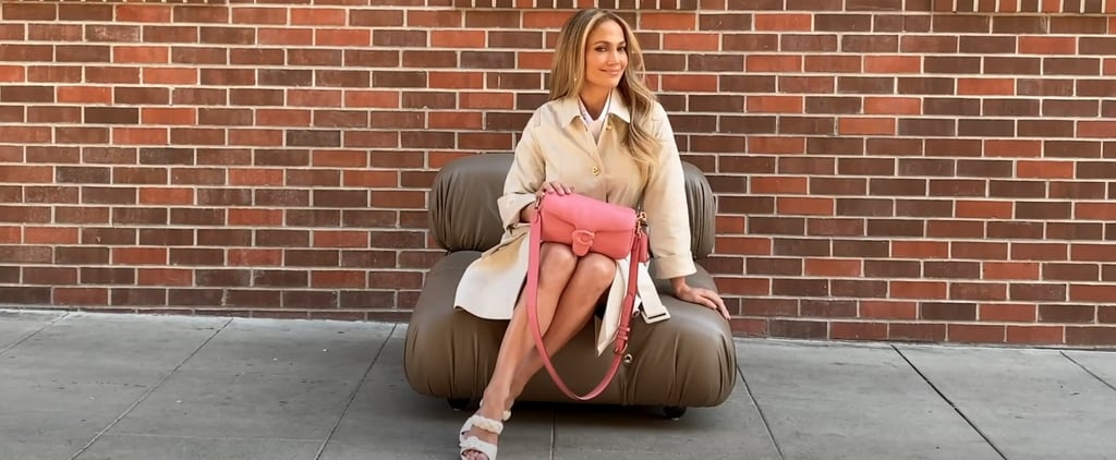 Jennifer Lopez Helps Launch the Coach Tabby Pillow Bag
