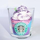 Starbucks Unicorn Frappuccino Candle — Small ($13)
