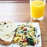 Breakfast: Mediterranean Scramble With Spinach