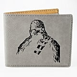 Chewbacca Engraved Monogrammed Wallet