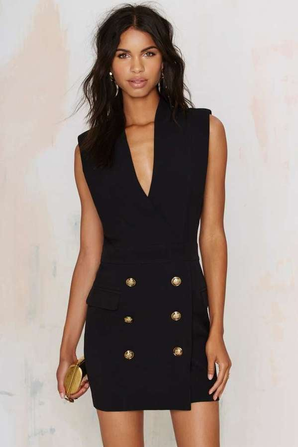 Factory All Suited Up Tuxedo Dress ($88)