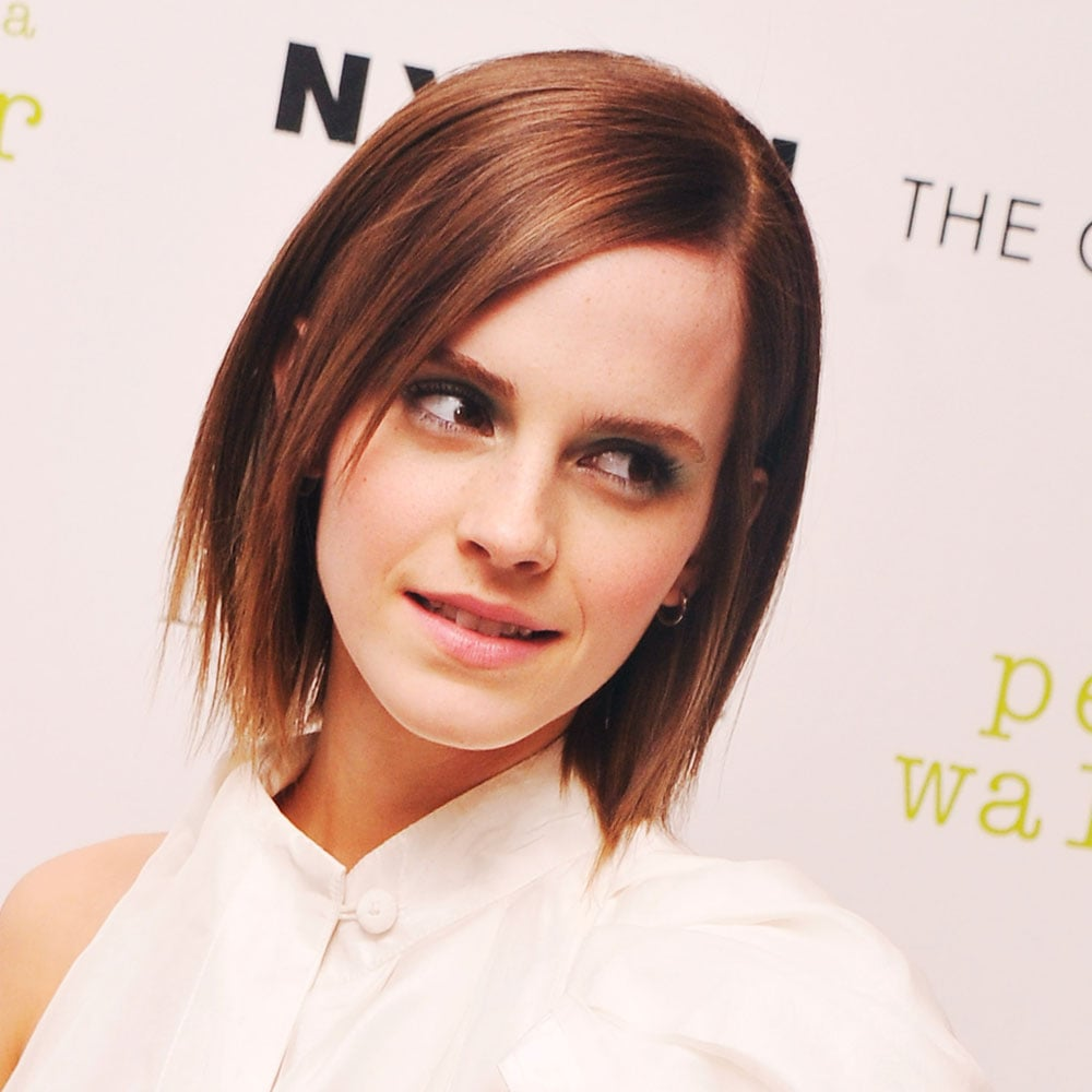 Emma Watson Pictures Of Celebrities With Bob Haircuts Popsugar