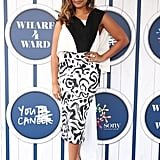 Jessica Mauboy at the 2016 Sony Foundation Wharf 4 Ward Event
