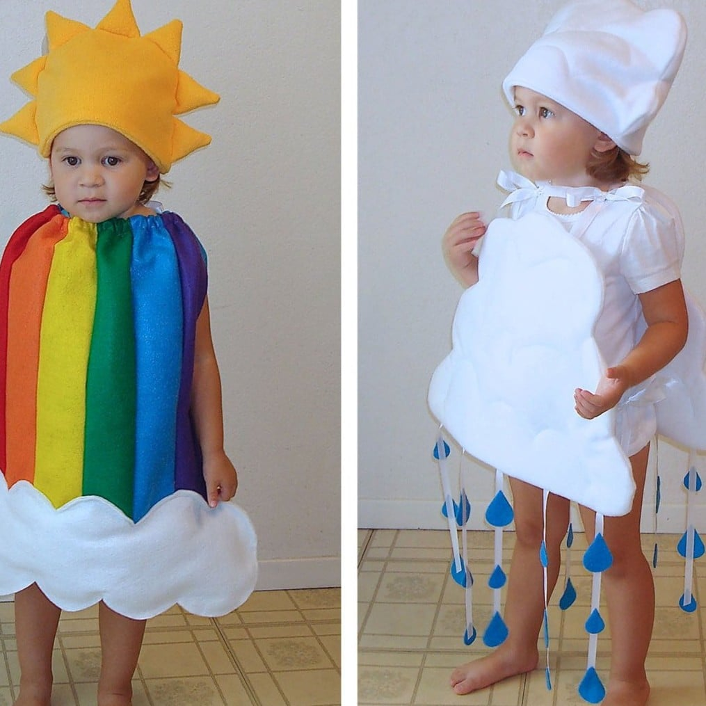 coordinating sibling costumes for halloween | popsugar family