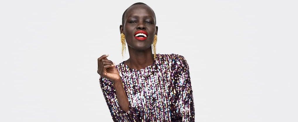 Best Sequin Party Dresses Zara