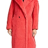 Max Mara Tedgirl Faux Fur Teddy Bear Coat