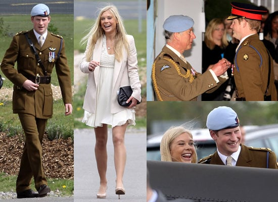 Pictures of Prince Harry With Chelsy Davy at Pilot School Graduation Plus Prince Charles