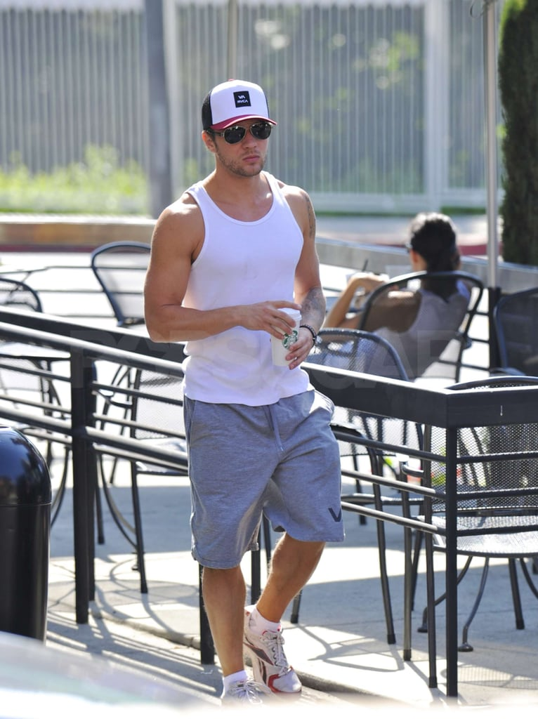 Ryan Phillippe showed off his impressive arms in a tank top.
