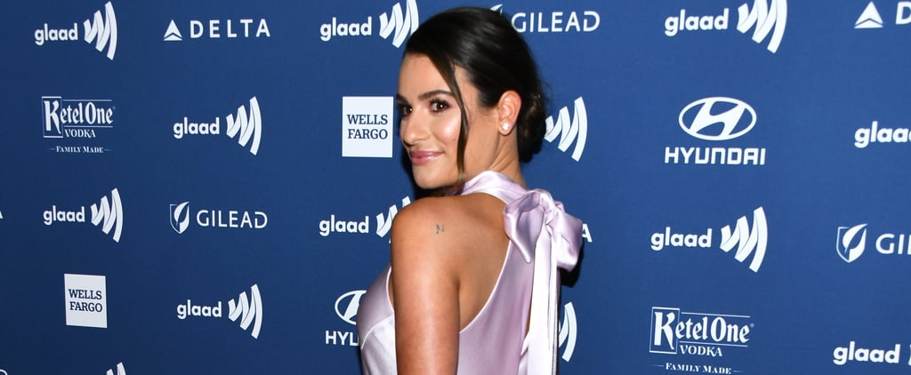 Lea Michele Dress at the GLAAD Media Awards 2019