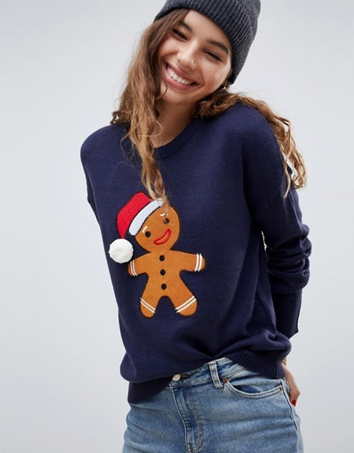 Brave Soul Gingerbread Christmas Sweater