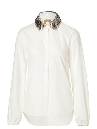 NO.21 White Embellished Top ($1,005)