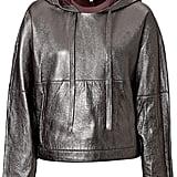 3.1 Phillip Lim Metallic Leather Hoodie ($1,295)