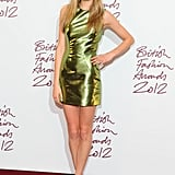 She Can Wear a Metallic Mini . . .
