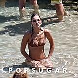 Gigi and Bella Hadid Bikini Pictures in Greece July 2019