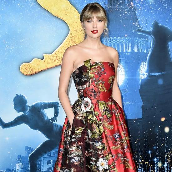 Taylor Swift's Oscar de la Renta Dress at the Cats Premiere