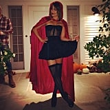 Lea Michele's Little Red Riding Hood costume was for a grown woman.