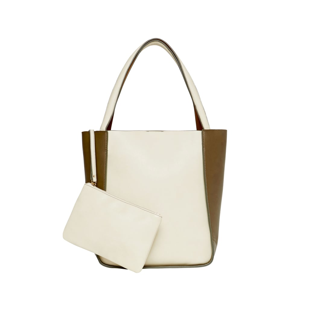 Seed Lola Contrast Tote, $80