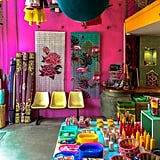 "Speaking of fun, be sure to swing by Kitsch Kitchen for an extra good time. Full of colorful decor and quirky knickknacks, one step inside is all it takes to realize why the mission of this store is to ""color your life happy!"""