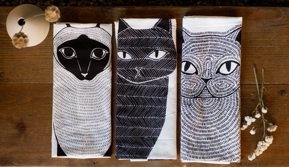 Tea Towel Set ($50)