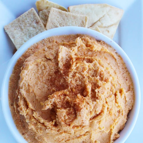Sweet Potato Hummus