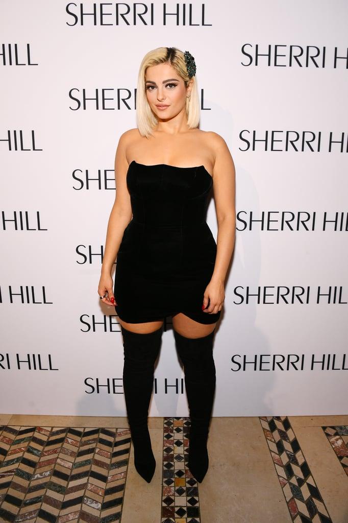 Bebe Rexha at the Sherri Hill NYFW Show 2019