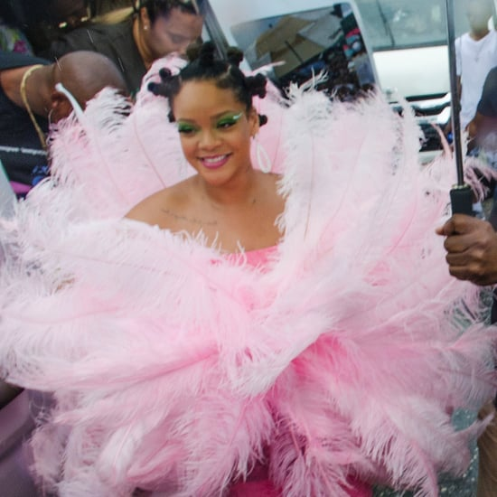 Rihanna's Bantu Knots at Crop Over Festival