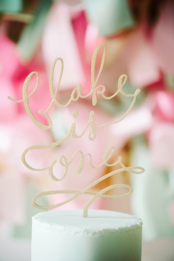 Beauty And The East Cake Topper