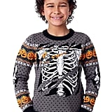 Fun Wear Child Ripped Open Skeleton Halloween Sweater