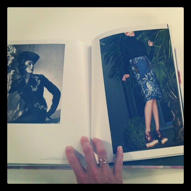 Just casually browsing Schiaparelli & Prada, Impossible Conversations.Our favourite fashion read!