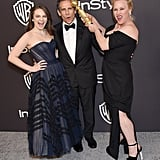 Pictured: Ella and Ben Stiller and Patricia Arquette