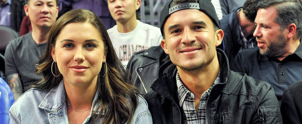 Alex Morgan and Servando Carrasco Welcome Their First Child
