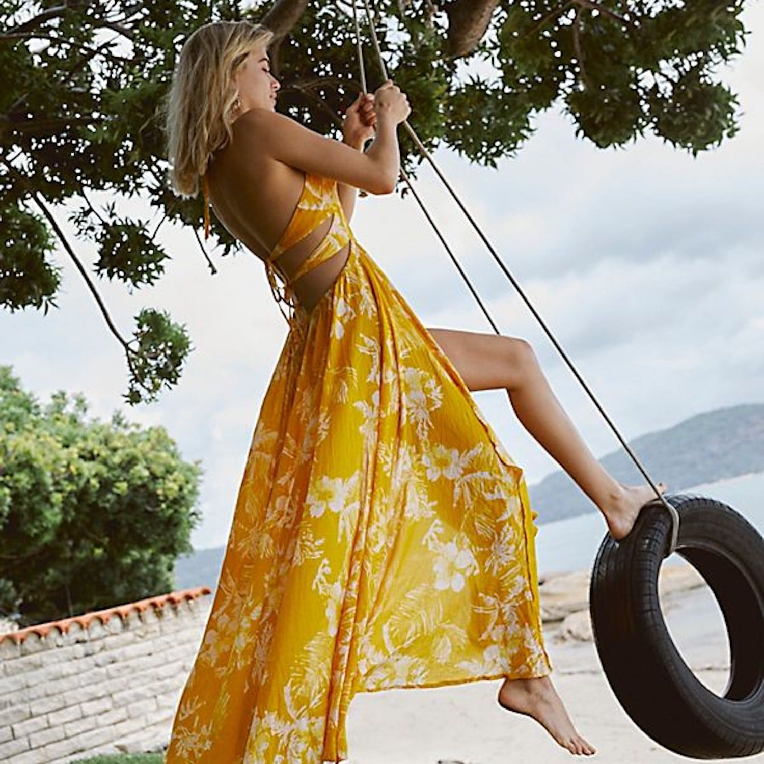 471adfe0a03c8 Astr the Label Floral Ruched-Front Maxi Dress | Best Vacation Dresses 2019  | POPSUGAR Fashion Photo 2