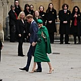 Prince Harry and Meghan Markle at Commonwealth Day Service 2020