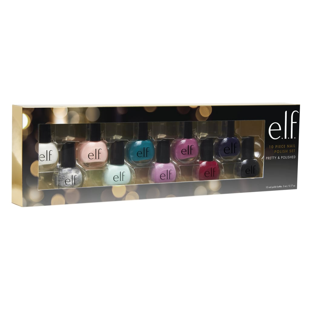 Christmas Nails Elf: ELF Holiday Nail Polish Pretty And Polished Collection