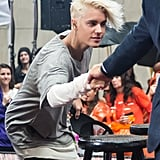 Justin Bieber and His Beauteous Blond Locks