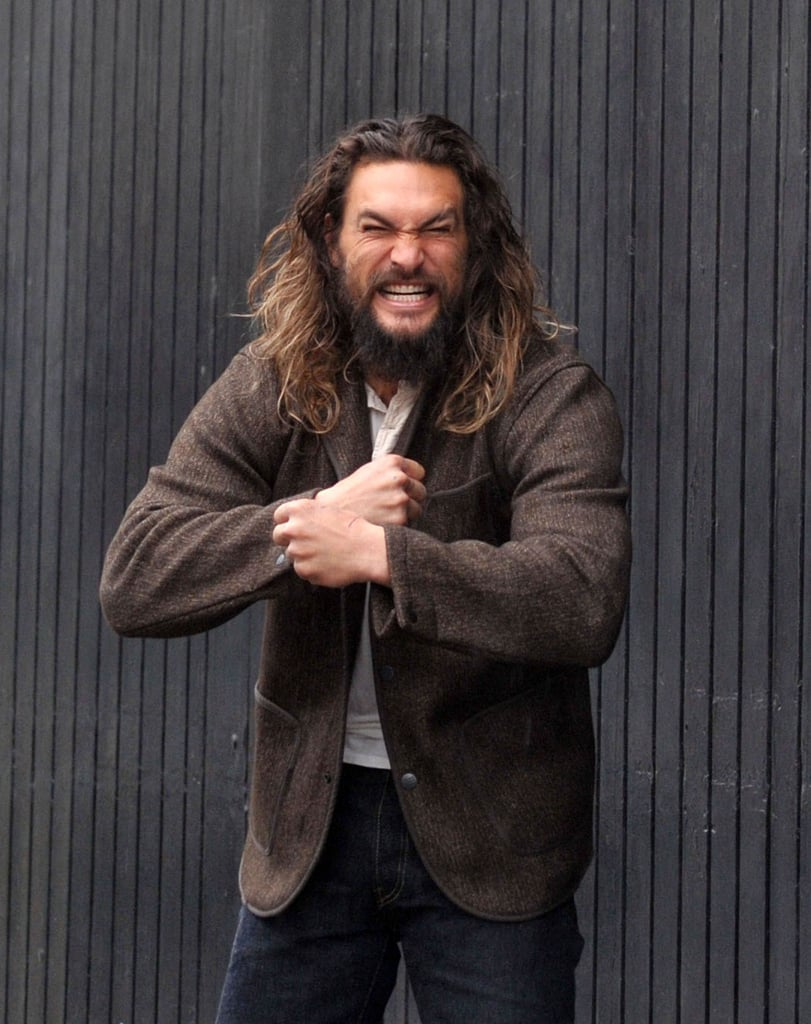 Jason Momoa Turns His Visit to a Guinness Brewery Into a Sexy Photo Shoot