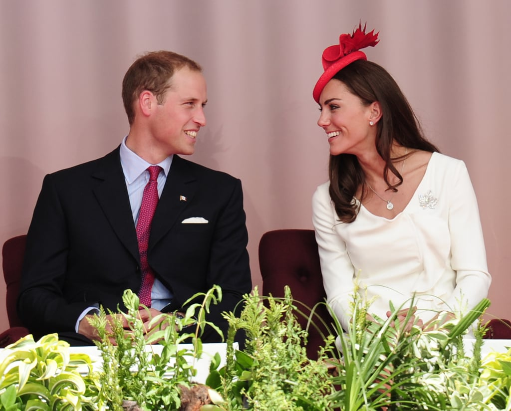 Prince William and Kate Middleton couldn't keep their eyes off each other during a July 2011 visit to Canada.