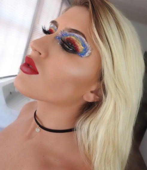 Hurricane Irma Makeup Controversy