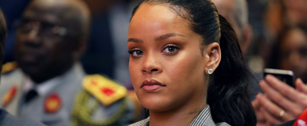 "Rihanna Calls Out Snapchat For Making a ""Joke"" About Chris Brown and Domestic Violence"