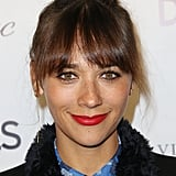 Rashida Jones was also in a similar look, but she proved it's an easily casual-chic look too.
