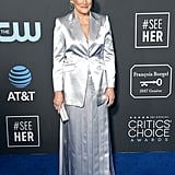 Glenn Close at the 2019 Critics' Choice Awards