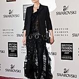 Photos from British Fashion Awards 2009