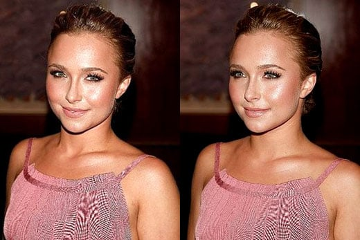 Hayden Panettiere's Pretty in Pink Makeup